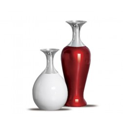 Vasos decorativos Lirio red white 30x10 - 24x13cm